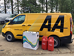 Fuel Cell Technology and the new AA Roadside Assistance Vehicle