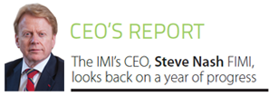 IMI CEO's Report