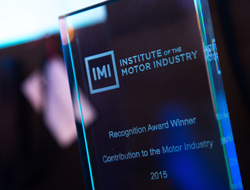 Industry gathers to celebrate outstanding contributors for Institute of the motor industry